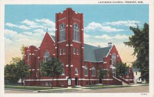 FREMONT, Nebraska, 1930-1940´s; Lutheran Church