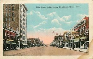 KS, Hutchinson, Kansas, Main Street