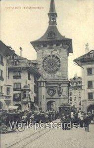 Zeitglockenturm Bern Swizerland Unused