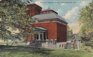 Indiana Crawfordsville Gen Lew Wallace Study