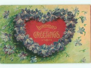 Divided-Back BEAUTIFUL FLOWERS SCENE Great Postcard AA3079