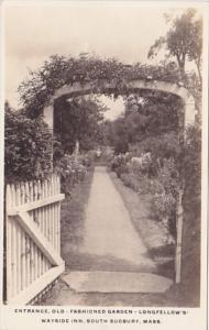 Entrance Old Fashioned Garden Longfellow's Wayside South Sudbury Massachusett...
