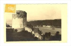 RP  Istanbul - Roumeli-Hissar (Bosphor), Turkey, PU-1952