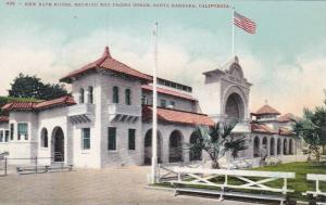 New Bath House , SANTA BARBARA , California ,  1900-10s