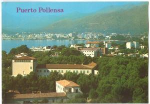 Spain, Puerto Pollensa, 1981 used Postcard