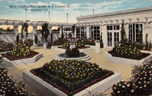 OAKLAND CA~H C CAPLAND VENETIAN ROOF GARDEN + TEA ROOM~LOT OF POSTCARDS 1910s