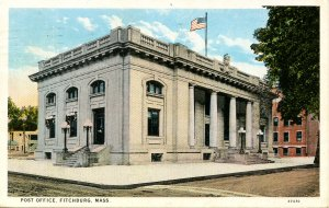 MA - Fitchburg. Post Office