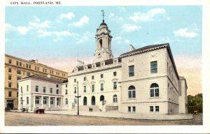 Maine Portland City Hall
