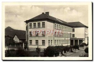 Old Postcard Mimon Stredni Skola Klementa Gottwalda