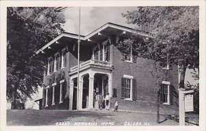 Illinois Galena Grant Memorial Home Real Photo RPPC