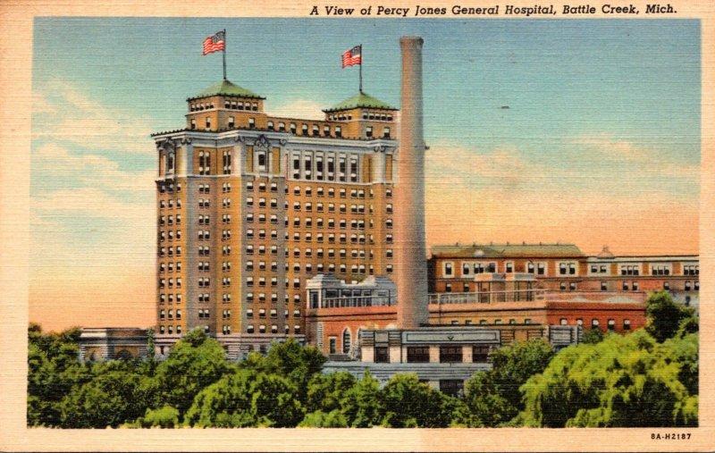 Michigan Battle Creek Percy Jones General Hospital 1944 Curteich