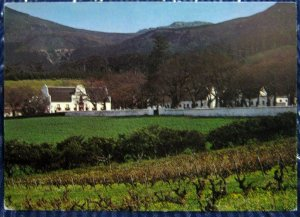 South Africa Groot Constantia Cape Town Kaapstad - unposted