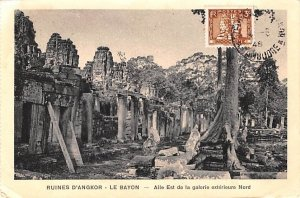 Aile Est de la galerie exterieure Nord Ruines D'Angkor Cambodia, Cambodge 194...