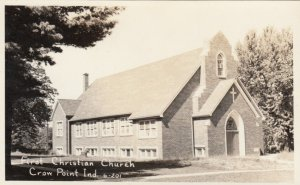 RP, CROW POINT , Indiana, 1930-40s ; First Christian Church