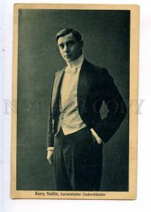 243801 Harry STEFFIN humorous magician CIRCUS Vintage PHOTO PC