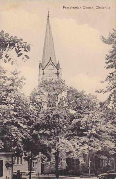 Exterior, Presbyterian Church, Circleville, Ohio, 1940-1960s