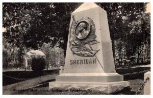 Virgina , Sheridan's Monument , Arlington Cemetery