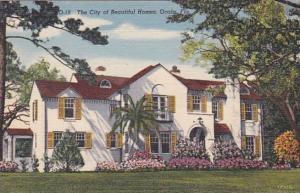 Florida Ocala A Beautiful Home 1951 Curteich