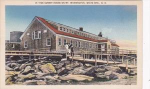 New Hampshire White Mountains Summit House On Mount Washington