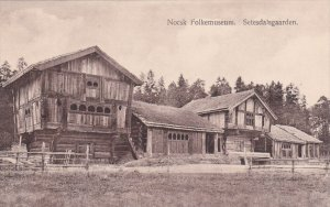 Norge. Norsk Folkemuseum , 1900-10s ; Setesdalsgaarden