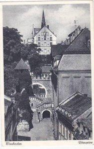 Germany Wiesbaden Roemertor