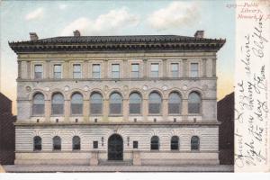 Public Library , NEWARK , New Jersey , PU-1905