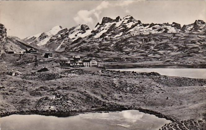 Switzerland Obwalden Melchseefruit mit Titlis 1940 Photo