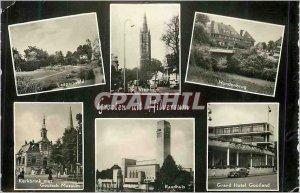 Modern Postcards Groeten uit Hilversum Laapersveld Handenbrug Kerkbrink puts ...