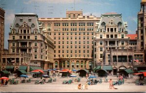 New Jersey Atlantic City The Dennis Hotel 1961