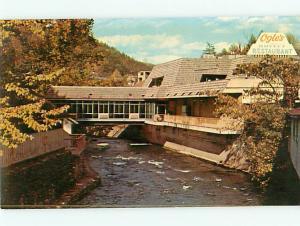 Vintage Post Card Ogles Buffet restaurant by Chamber of Commerce Gatl TN  # 4087