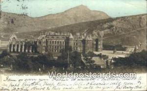 Scotland, Escocia Holyrood Palace & Arthur Seat Edinburgh Holyrood Palace & A...