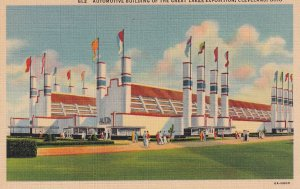 CLEVELAND, Ohio, 1930-40s; Automotive Buiding of the Great Lakes Exposition
