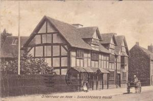 Shakespeare´s House, Stratford-upon-Avon (Warwickshire), England, UK, PU-1908