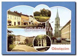 Postcard Modern Osweiecim