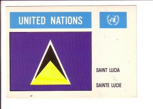 Saint Lucia United Nations Flag