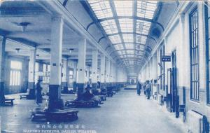 DAIREN, China , 1910-20s ; Waiting Pavilion , Dairen Wharves