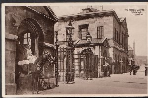 London Postcard - Lifeguards, The Horse Guards, Whitehill  RS3327