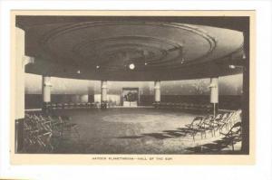 Hayden Planetarium - Hall of the Sun, New York City, 20-30s