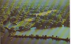 South Carolina Charleston Aerial View Middleton Place Gardens