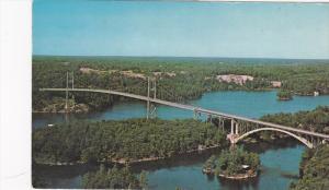 Thousand Islands International Bridge, Ivy Lea, Ontario, Canada, PU-1974