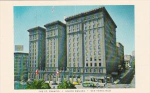 California San Francisco The St Francis Hotel Union Square