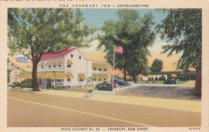 New Jersey Cranbury The Cranbury Inn State Highway #25 Curteich sk2602