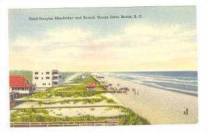 Hotel Douglas MacArthur and Strand, Ocean Drive Beach, South Carolina, 30-40s