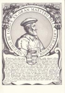 Fra Nicolo de Lorgve Sovereign Military Order Of Malta