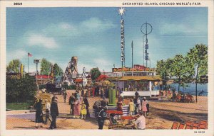 Chicago World's Fair 1933 Enchanted Island Curteich