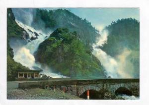 Latefoss Waterfall, Norway, 1940-60s