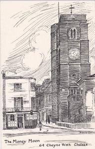 CHELSA , England , 30-40s ; The Money Moon Restaurant