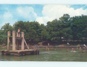 Pre-1980 FOUR SCENES ON ONE POSTCARD Fayetteville And Fort Smith AR hk6754