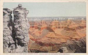 Arizona Grand Canyon Eroded Column Near Yavapai Point Fred Harvey Detroit Pub...
