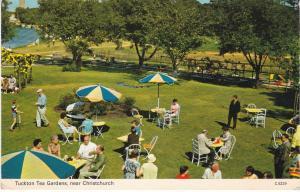 Post Card Dorset Christchurch Tuckton Tea Gardens